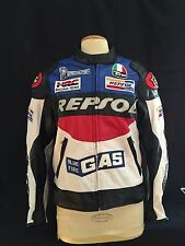 Pre owned Duhan Repsol Special Edition Motorcycle Jacket Medium