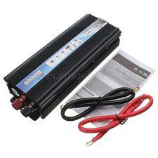 USB 2000W DC Vehículo Inversor Convertidor Corriente Continua  24V a AC 220V