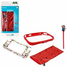 POWER A SUPER MARIO PROTECTOR KIT COVER FOR NINTENDO Wii U GAMEPAD