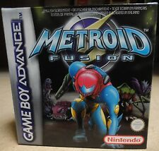 Metroid Fusion Nintendo Game Boy Advance New in Box complete with all manuals