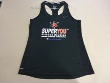 106 WOMENS NWOT NIKE RUNNING BLACK 'SUPERYOU'  RACERBACK TOP MEDM $65 RRP.