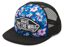 Vans Off The Wall Women's Beach Girl Trucker Hat Cap - Blurred Floral