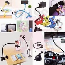 Universal Long Lazy Mobile Phone Flexible Holder Stand For Bed Desk Table Car
