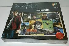 NEW - Harry Potter Collage 1000 Piece Jigsaw Puzzle NEW AND SEALED