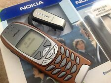 Nokia 6310i -  Red Sunset Phone. Genuine. Made in Germany. Extras. 1 Owner