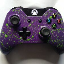 Brand New Xbox One Custom Controller Purple and Green splatter