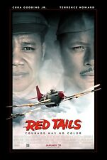 RED TAILS George Lucas Terrence Howard Cuba Gooding Jr DS Original Movie Poster