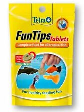 Tetra Fun Tips Food/Treat Tabs Fish Food Tropical / coldwater (Stick To Glass)