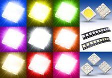 S931 Sortiment 90 Stk. SMD LEDs 5050 rot gelb grün weiß blau orange pink ww lila