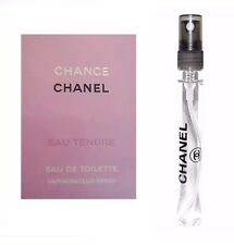 Chanel Chance 12ml Eau Tendre de Toilette 0.40oz EDT Spray Travel SAMPLE Purse