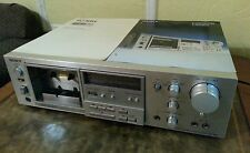 Vintage Sony Stereo Cassette Deck Model # TC-K61, With Sendust & Ferrite Head.