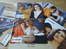 LA CHAIR  ! Marco Ferreri   jeu 8 photos cinema sexy erotique