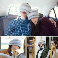 CUSCINO SCIARPA REVERSIBLE colore GREY by OSTRICH PILLOW LIGHT   #iteknologic