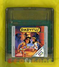 PAPYRUS Game Boy Color Versione Europea ○○○○○ SOLO CARTUCCIA
