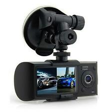 Dual Cámara Coche GPS registrador Salpicadero HD vídeo DVR Vehículo Cámara
