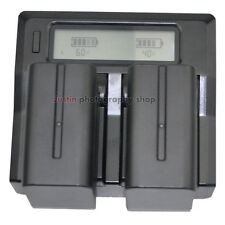 LCD-Show Charger + 2x 7800mAh Battery For Sony NP-F970 NPF960 NP-F770 Camcorder