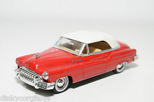 SOLIDO BUICK 1950 CABRIOLET RED NEAR MINT CONDITION