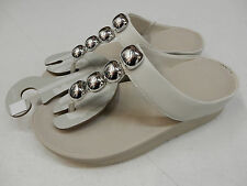 FITFLOP WOMENS SANDALS ROLA URBAN WHITE SIZE 7