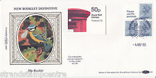 1985 50p FB31 Folded Booklet - Benham D33 - Windsor Handstamp