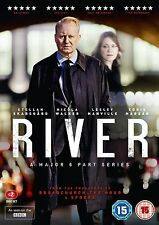 River Series 1 [BBC] (DVD)~~~~Stellan Skarsgård, Nicola Walker~~~~NEW & SEALED