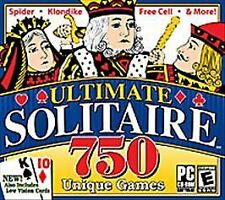 Ultimate Solitaire 750 (Jewel Case) - PC Valusoft Video Game