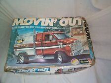 1/16 MOVIN' OUT- Chevy Van by Revell-1977!-Kit very nice-box poor