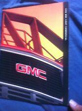 1998 GMC Serria Pickups Commercial Vans Color Brochure Catalog Prospekt