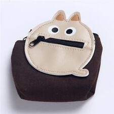 Women Girls Cute Cartoon Coin Purse Wallet Change Pouch Key Holder Zip Bag