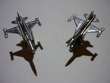 Northrop F-5E Tiger II c91 Pair Cufflinks Made From Fine English Modern Pewter