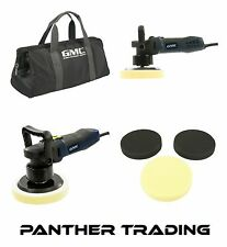GMC 600W Dual Action Sander Polisher GPDA Inc Carry Case & 3 Sponges  - 673823