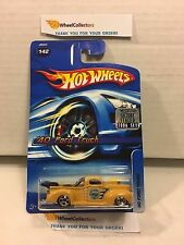'40 Ford Truck #142 * YELLOW * 2006 Hot Wheels Factory Set * H2