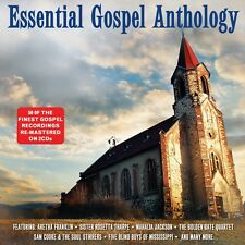 2 CD BOX ESSENTIAL GOSPEL ANTHOLOGY COOKE FRANKLIN THARPE JACKSON FIVE BLIND BOY