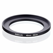 46mm to 58mm 46-58 46-58mm46mm-58mm Stepping Step Up Filter Ring Adapter