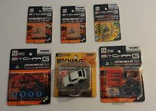 TOMY/TOMICA Bit Char-G Nissan Skyline White 2000GT-R Pull Back Body/Plus Extras!