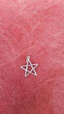 Pentagramm Kette Drudenfuß Pentakel Pentalpha Pentagram Hexenstern Stern