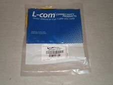 New! L-com SFODST-LC-01 Fiber Optic Connector Cable SF0DST-LC-01 Free Shipping!