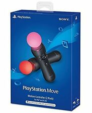 NEW PlayStation Move Motion Controllers Two Pack Sony PS4 and PS VR