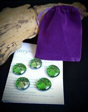 Fairy Circle casting  set  Wicca Pagan Altar Spell work Fey Elven Star