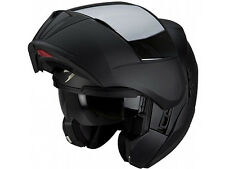 CASCO HELMET MODULARE MOTO SCOOTER NAKED SCORPION EXO 910 AIR SOLID NERO AIRFIT