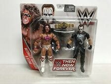 ULTIMATE WARRIOR & STING 2015 Mattel WWE Then Now Forever action figure set