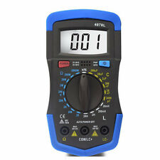 4070L LCR RCL LRC Ohm Inductance Resistance Capacitance Digital Meter Tester USA