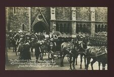 Gloucestershire Glos ROYALTY Bristol KE7 Clifton College Head Boy 1908 RP PPC