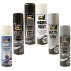 Enamel Gloss Appliance Primer Spray Paint Aerosol Radiator Tough 250ml Metal
