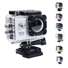 1x Video Full HD 1080P 12MP Cam 30M caméra étanche Action Sports DV DVR Noir CC