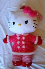 Hello Kitty Christmas Holiday Porch Greeter Plush Gemmy 28in NEW (without Tag)