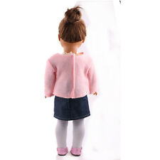 2017 gifGIFT! fashion new clothes dress for 18inch American girl doll party b786