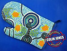 Australian Souvenir Aboriginal Art Oven Mitt Sea Turtle Dreaming - Colin Jones