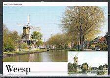Nederland Voorgefrankeerde ansichtkaart Weesp Korte Stammerdijk - postcard
