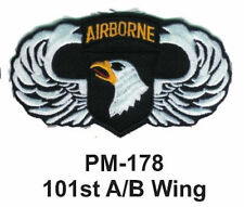"3"" 101ST A/B WING Embroidered Military Patch"