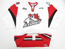 MISSISSAUGA ICEDOGS OHL AUTHENTIC WHITE PRO CCM HOCKEY JERSEY SIZE 54
